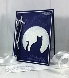 Moonlight Silhouette by GracelynsMommy - Cards and Paper Crafts at Splitcoaststampers