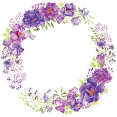 Purple flower wreath, Purple, Flores, Petal PNG Image and Clipart Flower Background Wallpaper, Flower Backgrounds, Blue Lotus Flower, Purple Flowers, Flower Frame, Flower Art, Clip Art, Flower Graphic Design, Transparent Flowers