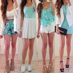 Spring Outfits. cual te gusta mas?