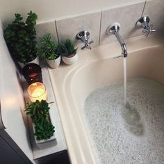 33 Fascinating Bathtub Decor Ideas That You Should Copy - One of the many wonderful things about putting a corner whirlpool bathtub in your bathroom is the many decorating options that it opens up. Modern Bathtub, Design Industrial, Table Design, Interior Decorating, Interior Design, Interior Modern, Kitchen Interior, Hygge, My Dream Home
