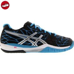 Gel-Challenger 11, Chaussures de Tennis Femme, Blanc (White/Diva Blue/Aqua Splash), 39.5 EUAsics