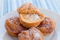 Healthier Cinnamon Crunch Sweet Potato Muffins