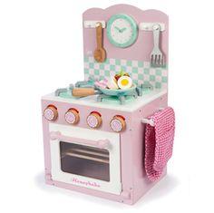 Jouet enfant Cuisini�re et four rose en bois Le Toy Van