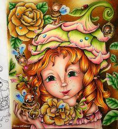 Markova, Polychromos, Enchanted, Prismacolor, Fairy, Princess Zelda, Magic, Touch, Photo And Video
