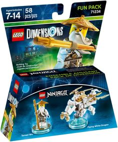 71234 Sensei Wu Fun Pack
