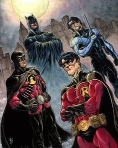 all robins from batman | ... Bookshelf: Guest Post:: Batman Primer Part II - The Batman Family