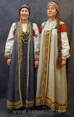 Льняные сарафаны