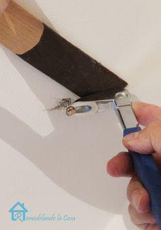 Remodelando la Casa: Pop-Nails on Ceiling