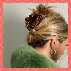 Quick Hairstyles, Summer Hairstyles, Banana Clip Hairstyles, Hairstyle Short, Wedding Hairstyles, Ponytail Hairstyles, Short Hair In Ponytail, Waitress Hairstyles, Model Hairstyles