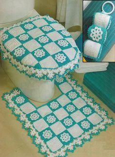 crochet maison & cuisine - Marina Vreugdenhil - Welcome to the World of Decor! Crochet Bedspread, Crochet Doilies, Free Crochet, Knit Crochet, Bedroom Crafts, Crochet Home Decor, Crochet Kitchen, Crochet Magazine, Tissue Box Covers