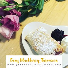 Have you picked lots of blackberries this autumn and are wondering what to do with them? We know apple and blackberry crumble but thought we would try something different and make blackberry turnovers. They were so easy to make even with my toddler. Click for the recipe and method.
