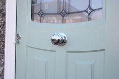 Love Your Door install the authentic composite door from the Rockdoor range. Installed Bourenmouth, Poole, Christchurch, Wimborne & New Forest 1930s House, Composite Door, House Front, Curb Appeal, Door Handles, Composition, Exterior, Gallery, Door Ideas
