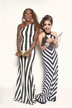 Bob the drag queen and Bianca Del Rio