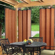 Have to have it. Versailles Patented Ring Top Bamboo Panel - Indoor/Outdoor - $101.99 @hayneedle