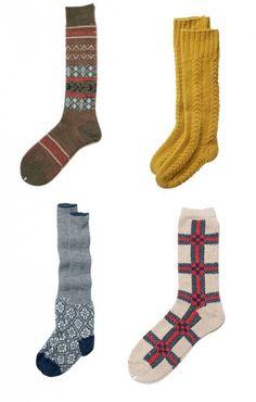 love the yellow socks!