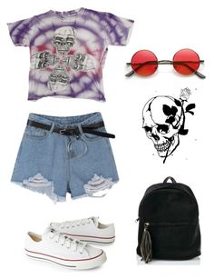 """""""Untitled #77"""" by jasmine-663 on Polyvore featuring Converse"""