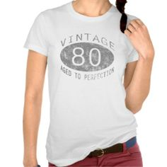 >>>Order          80th Birthday Vintage Humor Tee Shirts           80th Birthday Vintage Humor Tee Shirts lowest price for you. In addition you can compare price with another store and read helpful reviews. BuyDeals          80th Birthday Vintage Humor Tee Shirts Here a great deal...Cleck Hot Deals >>> http://www.zazzle.com/80th_birthday_vintage_humor_tee_shirts-235956058446493749?rf=238627982471231924&zbar=1&tc=terrest
