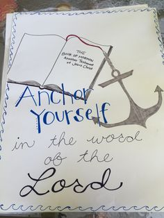 Young women's poster to remind them to read their scriptures during our 90 day Book of Mormon challenge