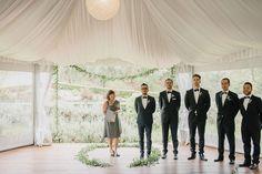 A Beautifully Elegant Bracu Wedding by Jessica Sim - Paper