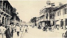 Another road in Phnom Penh Old Pictures, Old Photos, Vintage Photos, 1 Century, Khmer Empire, Indochine, Phnom Penh, Angkor Wat, Architecture