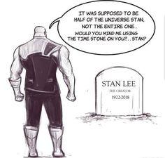 Thanos e Stan Lee - - Thanos e Stan Lee - # . - Thanos e Stan Lee – – Thanos e Stan Lee – – Best Pic - Marvel Avengers, Marvel Jokes, Marvel Comics, Funny Marvel Memes, Dc Memes, Avengers Memes, Marvel Heroes, Captain Marvel, Thanos Marvel
