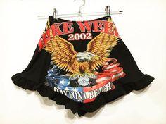 Bike Week Eagle Short Shorts