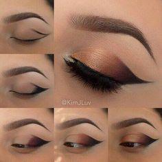 Stunning Eye Makeup Tutorial #eyemakeup #eyemakeupideas #makeup
