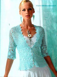 Blusas ideales para primavera | Ruthy Crochet y más...