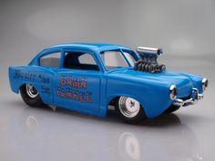 Henry J Drag Car Model