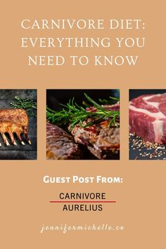The carnivore diet is centered around some of the healthiest, tastiest, most nutritious foods in the world: steaks, animal fats, lamb, butter, beef tallow and liver. Learn how people are improving their health with the carnivore diet. #carnivoreaurelius #carnivorediet #jennifermichelleco Protein Diets, No Carb Diets, Zero Carb Diet, Low Carb, Drop Weight Fast, Rheumatoid Arthritis Diet, Beef Tallow, Meat Diet, Most Nutritious Foods