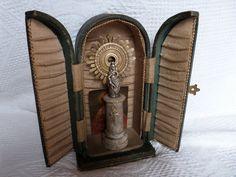 Antique+French+travel+altar+w+pocket+prayer+by+MyFrenchAntiqueShop,+$174.00