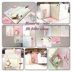 Memories Mini File Folder Album