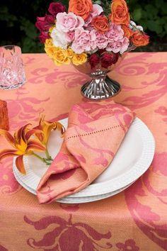 #LinenWay #Linen #Napkin #LinenNapkin #DinnerNapkin #Hemstitching #Bright colors #Bold Pattern