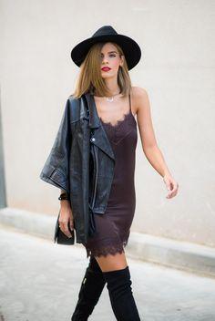 Ms Treinta - Blog de moda y tendencias by Alba. - Fashion Blogger -: slip dress