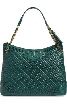 ab5b6cc7477 Tory Burch  Fleming  Leather Shoulder Bag