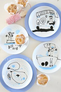 designing their own plates