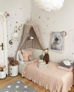 Small Room Bedroom, Baby Bedroom, Girls Bedroom, Bedroom Decor, Toddler Rooms, Big Girl Rooms, Bedroom Styles, Home Interior, Home Deco