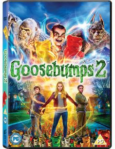 The Goosebumps 2 DVD/Blu-ray was released on January and we're super excited. About Goosebumps 2 Be careful what you wish for. With their after school junk business, best friends Sonny a… Family Movies, New Movies, Movies And Tv Shows, Moana, Halloween Dvd, Haunted Halloween, Goosebumps 2, Madison Iseman, Ken Jeong
