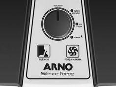 Ventilador de Mesa Arno Silence Force VF30 30cm - 3 Velocidades com as melhores condições você encontra no Magazine Edisonmaciel. Confira!