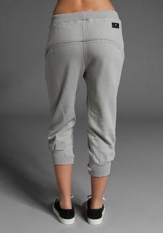 ADIDAS BY STELLA MCCARTNEY CU 3/4 Sweat Pant in Non-Dyed Universe - adidas by Stella McCartney