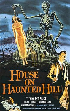 "William Castle ""House on Haunted Hill"" (1959)"