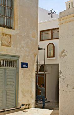'Break from Rebuilding Naxos' by OldSchoolTraveller Photographs, Photos