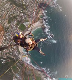 Tandem Paragliding with Fly Cape Town offers you the opportunity to see Cape Town from another angle. James Dickey, Paragliding, Modern History, New Adventures, Tandem, Cape Town, Around The Worlds, Quote, Men