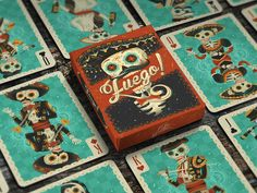 Fuego! Playing Cards (Concept) on Packaging of the World - Creative Package Design Gallery