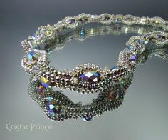 Free+Seed+Bead+Necklace+Patterns | Chain of Jewels Necklace in Beadwork Magazine, August/September 2011