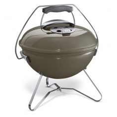 WEBER Smokey Joe Premium Portable Charcoal Kettle BBQ in Smoke