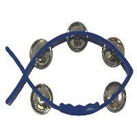 8 X 4.5 Little Fish Blue Tambourine by Swanson. $9.99. Tambourines have stainless steel cymbals with heavy duty plastic body. Interlocking pins and easy to hold handles. Little Fish Tambourines have single stainless steel jingles and interlocked pins. 8x4 1/2.