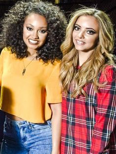 Leigh-Anne Pinnnock and Jade Thirlwall