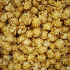 Caramel Popcorn with Cashews