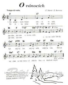 písničky pro děti - Hledat Googlem Yahoo Images, Image Search, Sheet Music, School, Music Sheets
